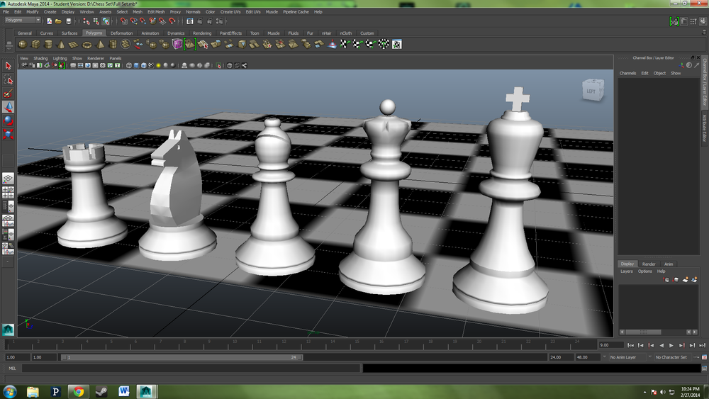 Major Chess Pieces