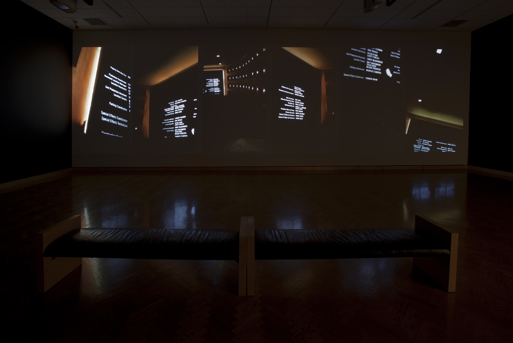 Movie (Black Swan), six channel video installation, 8:23, Minneapolis Institute of Arts, 2011, Walker Art Center, 2015