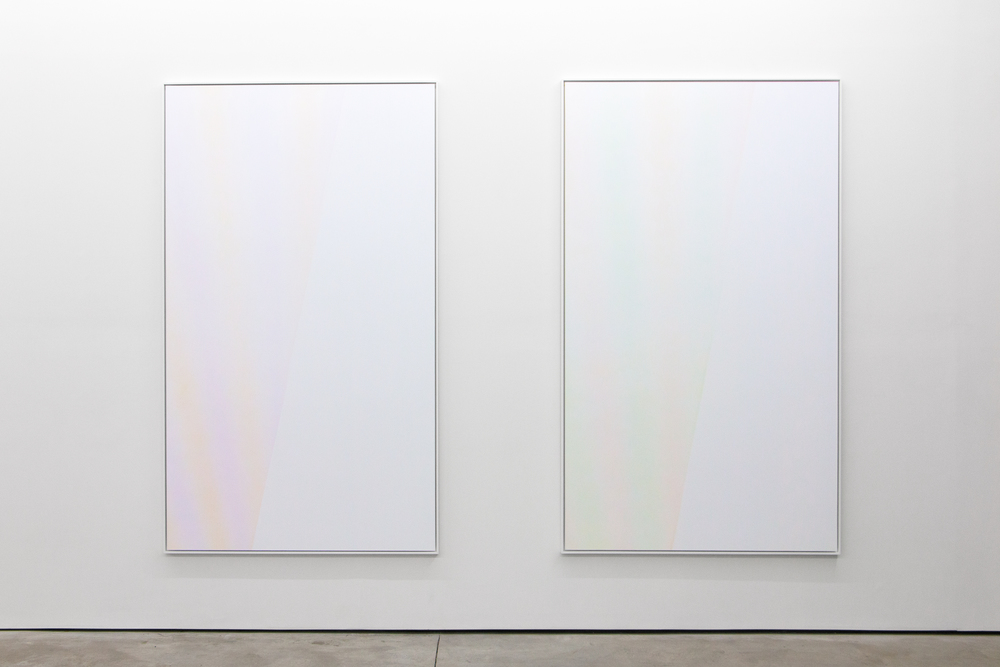 "Polyfocal, Epson K3 ink on photographic paper, unique, 73""x44"" each, 2016"