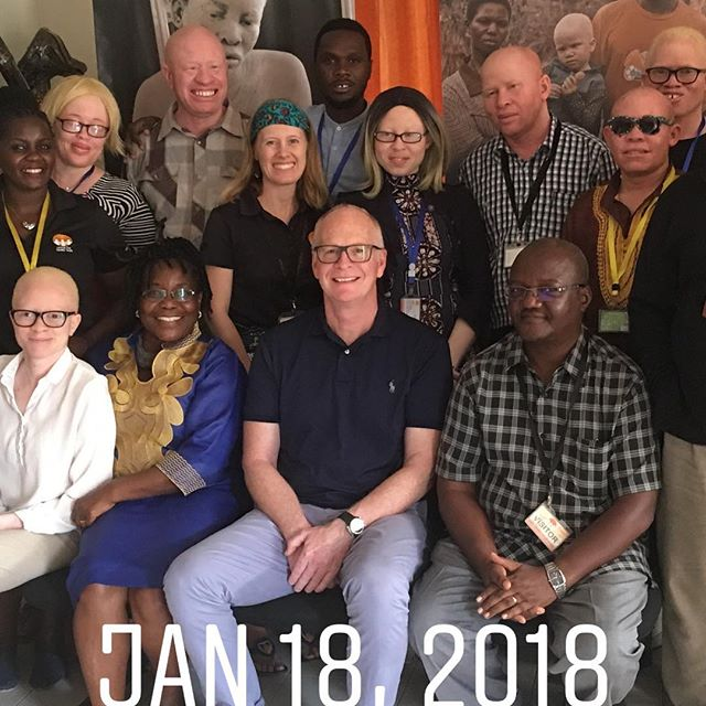 "Visited my new friends at ""Under the Same Sun"" Dar es Salaam Tanzania. Check out www.underthesamesun.com to learn about an incredible need and even more redemptive story for people with Albinism."