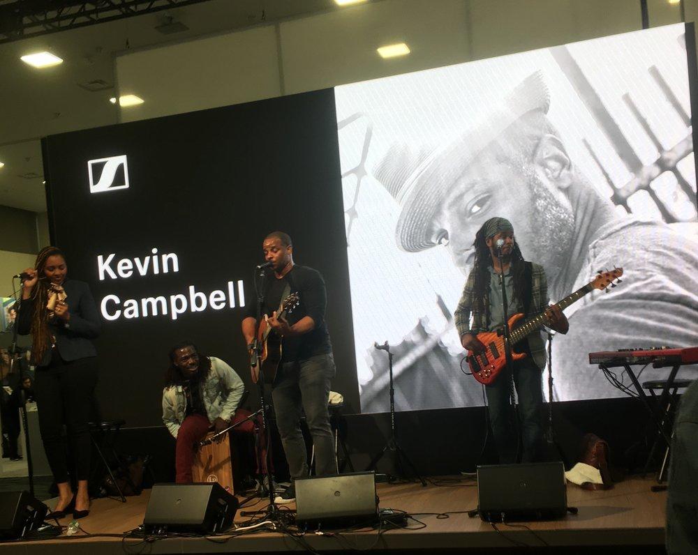 NAMM 2019 - Sennheiser Stage