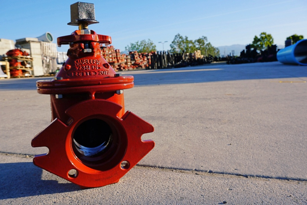 Mueller Co : Resilient Wedge Gate Valves — Famcon Pipe