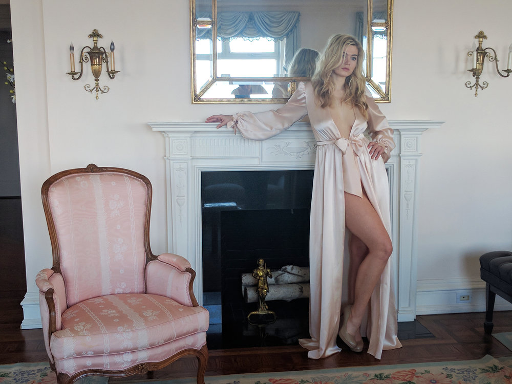 angela friedman lingerie collection At First Blush, lingerie designer reviews, fashion photo shoot photoshoot spring summer
