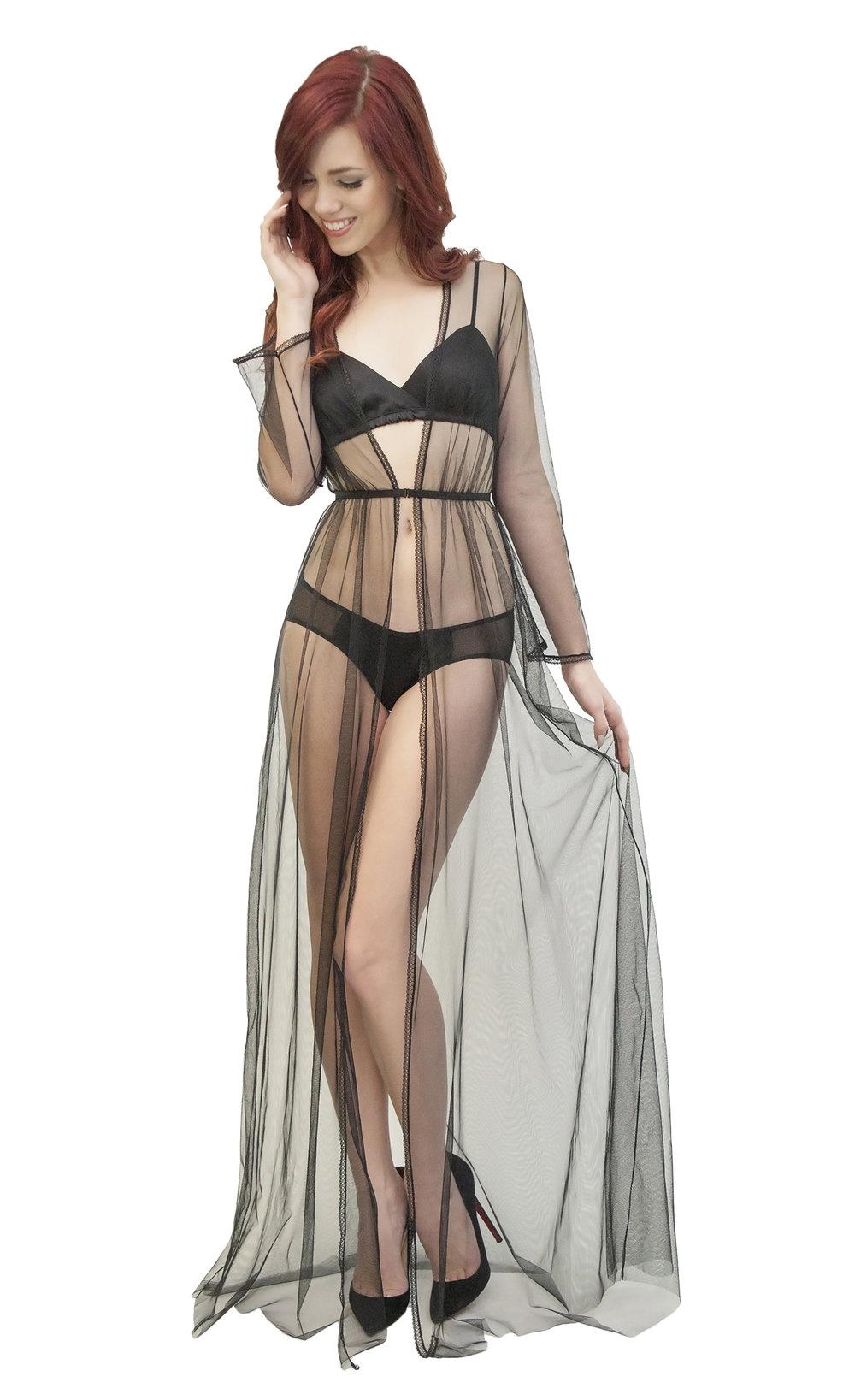 Tulle robe - $220