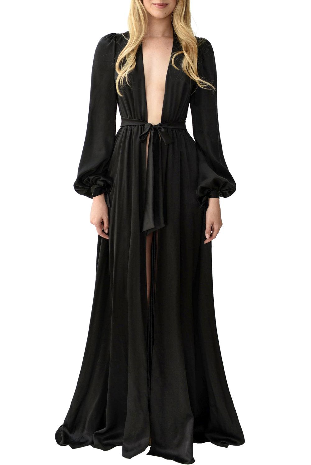 black silk robe - 570×854