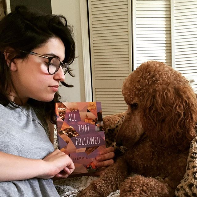 I'm asking Kaja what she thinks of Our August selection, Gabrial Urza's All that Followed. He'll be at the @odysseybookshop Wednesday to speak and sign the First Edition Club books! #odysseyfirsts #gabrielurza #booklovers #henryholt