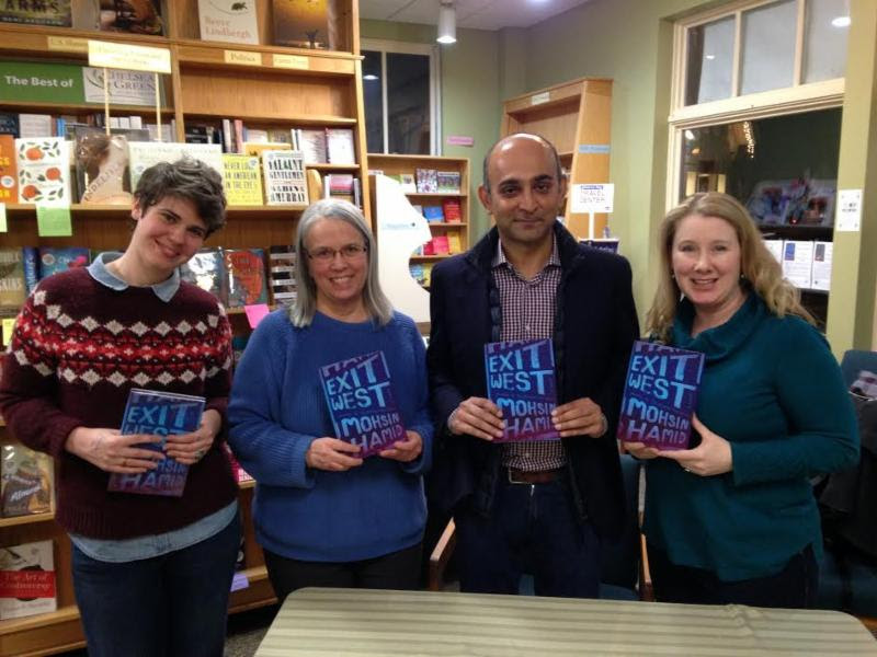 Odyssey Booksellers with author Mohsin Hamid