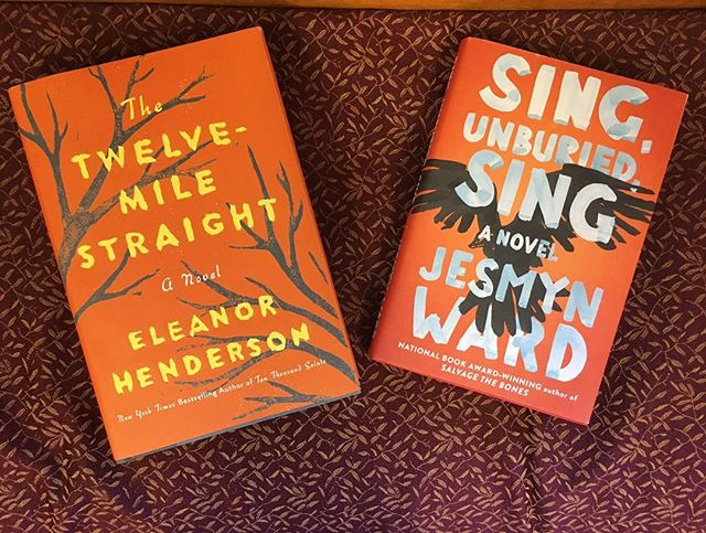 Our September and October selections look so good together! Can't wait to host Eleanor Henderson on 9/26!