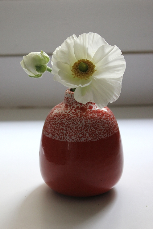 Heath Ceramics custom bud vase - Fancy Casual www.fancycasual.com