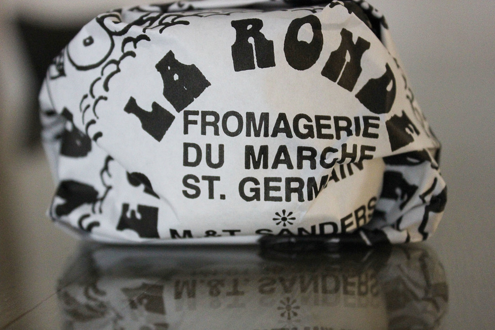 Parisian Dinner: Racotin (french goat cheese) - www.fancycasual.com