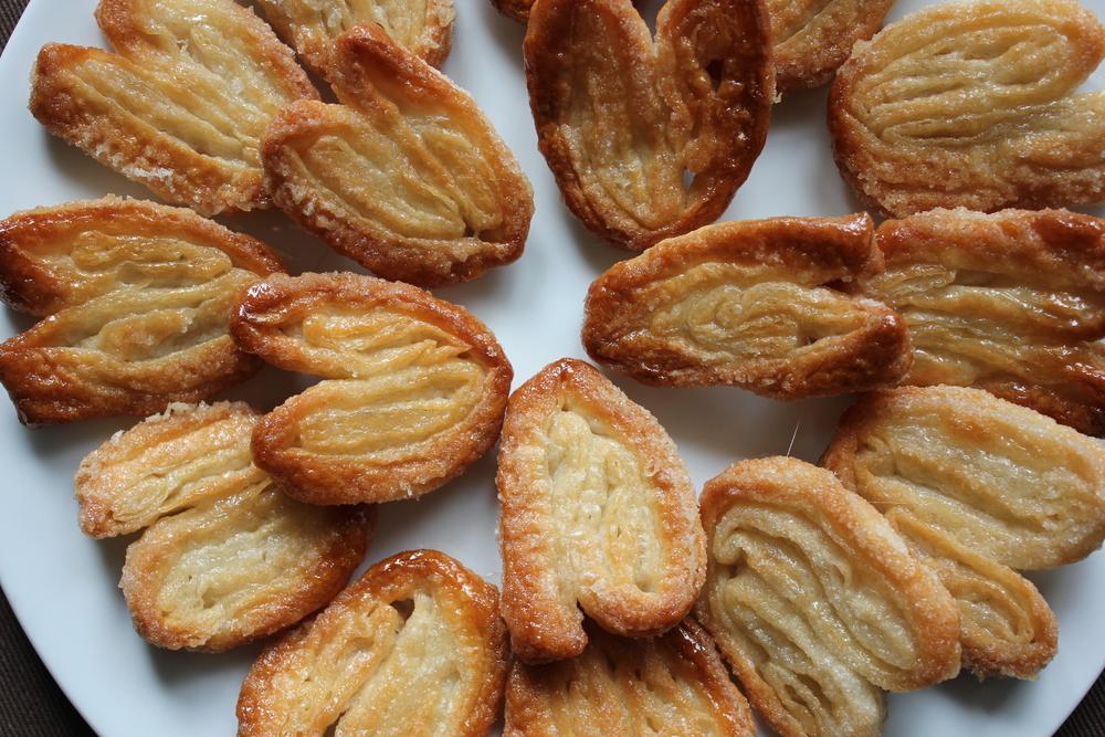 Palmier (Elephant Ear) cookies by Ina Garten #cookies #dessert - www ...