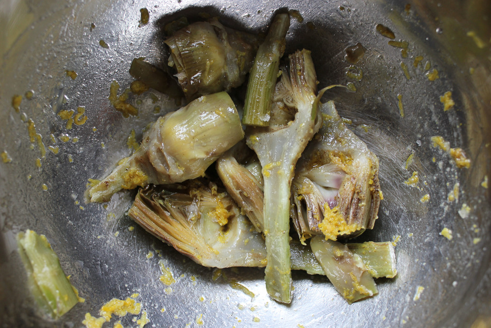 Artichoke Risotto by Jamie Oliver #dinner #italian - www.fancycasual.com
