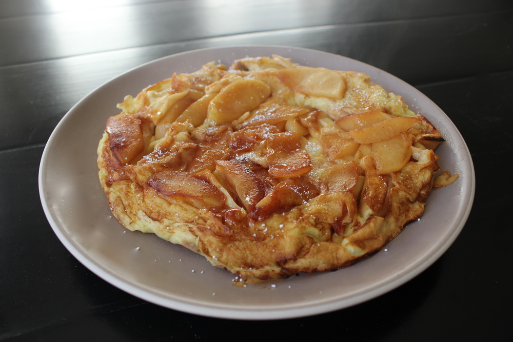 Apple Pancake by Marion Cunningham, The Breakfast Book - www.fancycasual.com