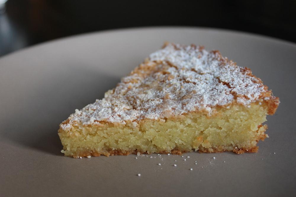 Grandma Marion's Almond Cake - www.fancycasual.com