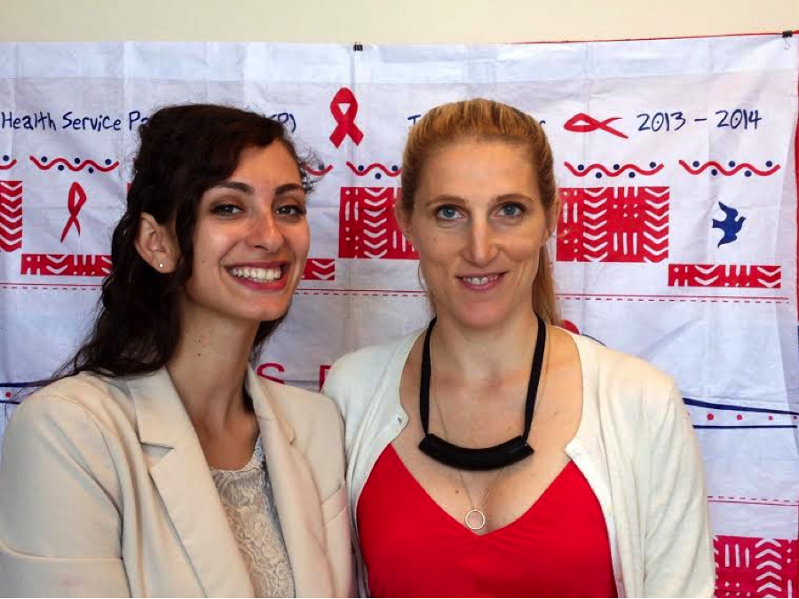 Eva and Dr. Vanessa Kerry