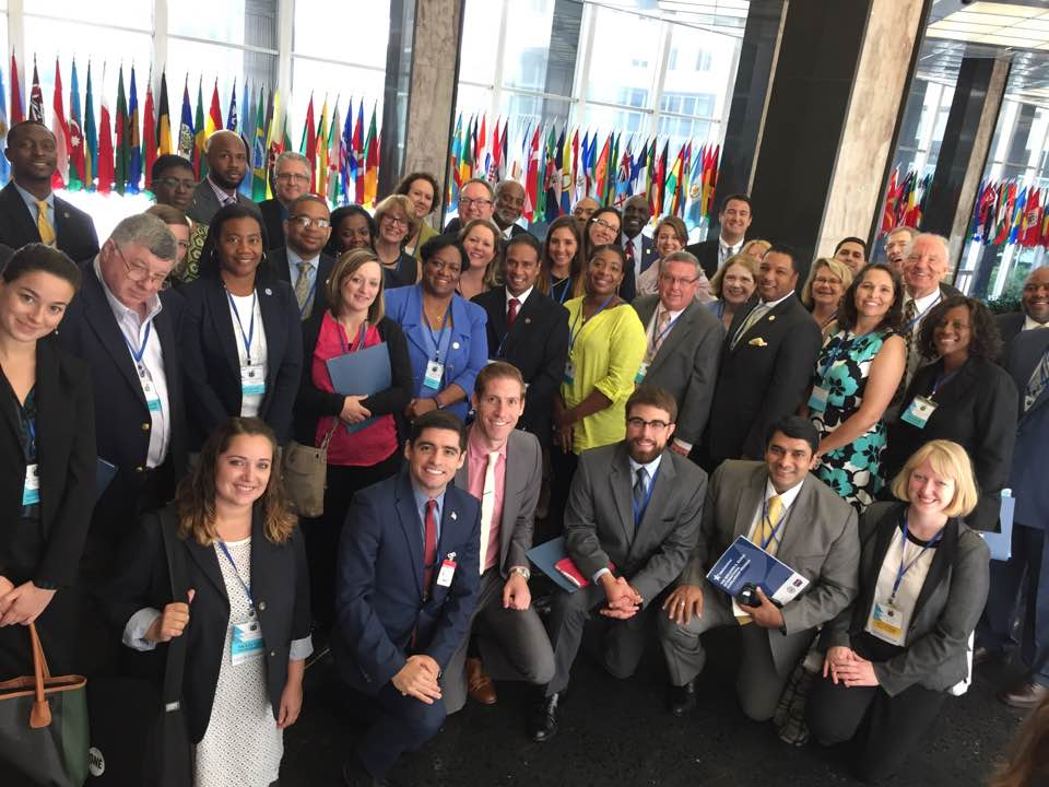 MCN Executive Track attendees at the U.S. Department of State during the eighth annual Millennium Campus Conference.