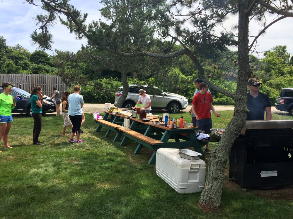 Barbecues are held every Friday in the summer at MSC!