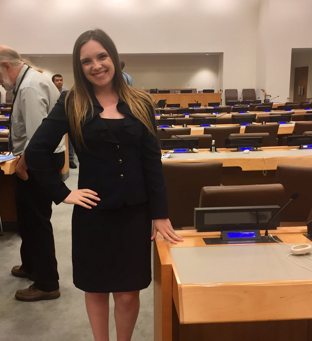 Jessica at the United Nations