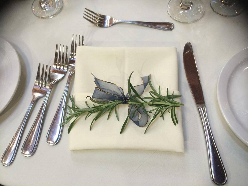 Rosemary Tradition is carried out by representing fidilety and rememberance of family.