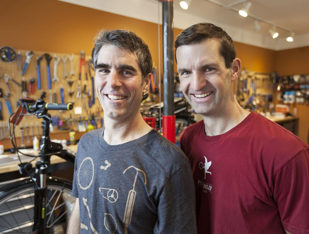 Talk to real people at a real bike shop. -