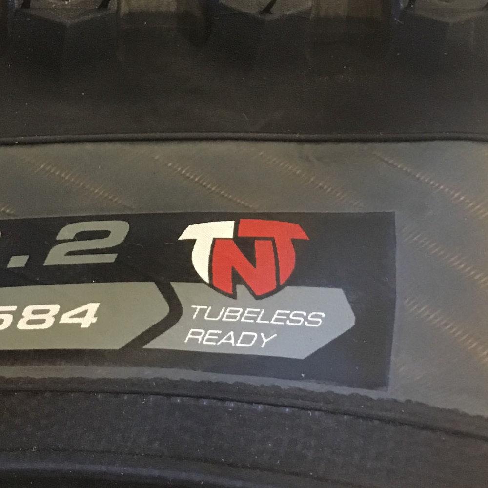 TNT – Tubeless Ready