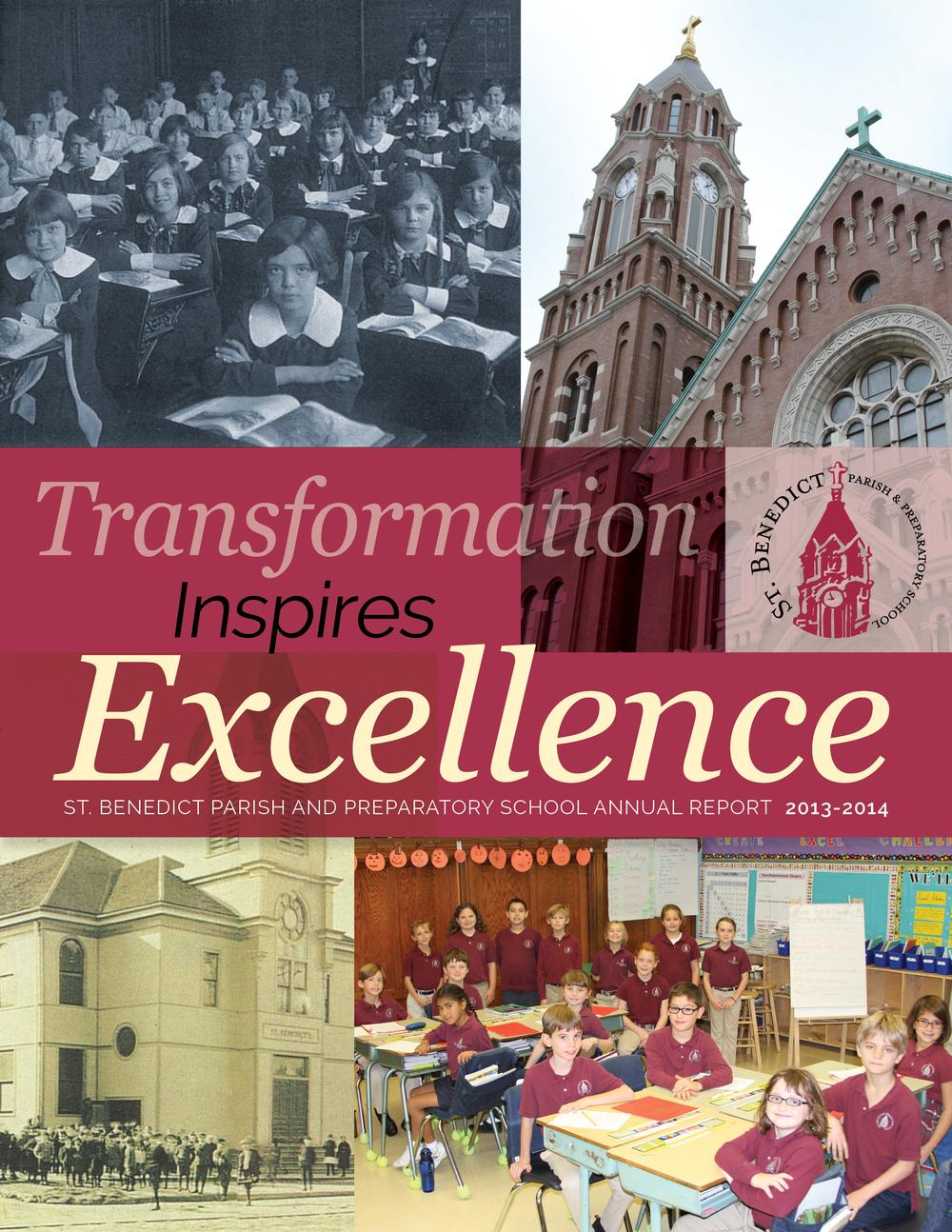 ST BENEDICT PARISH & PREPARATORY SCHOOL 2013-14 ANNUAL REPORT