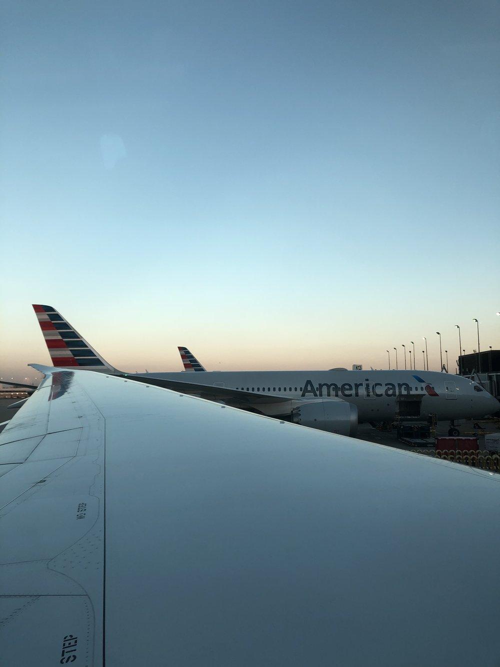 Ready to take off…