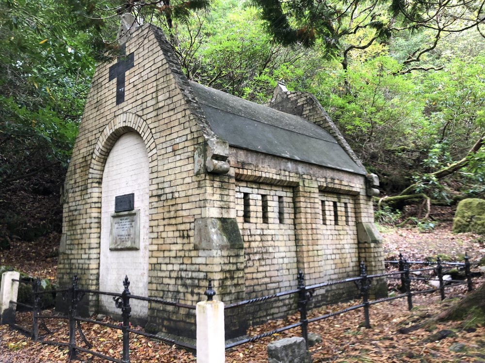 the Henry family mausoleum