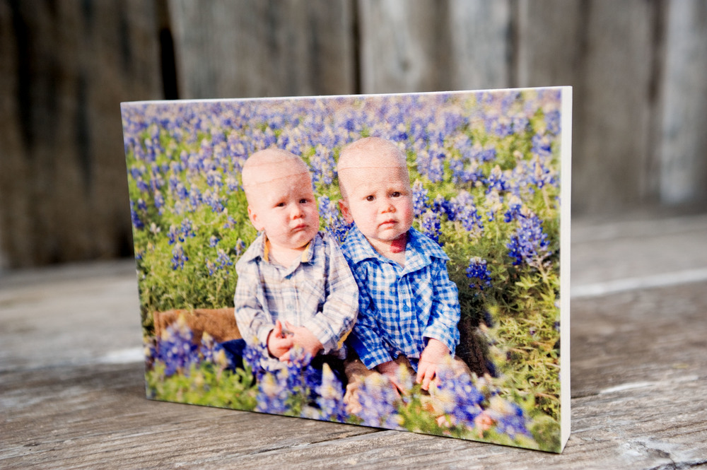 Wooden photo board, the natural tones and grain of the wood combine with your image to create a truly unique work of art.