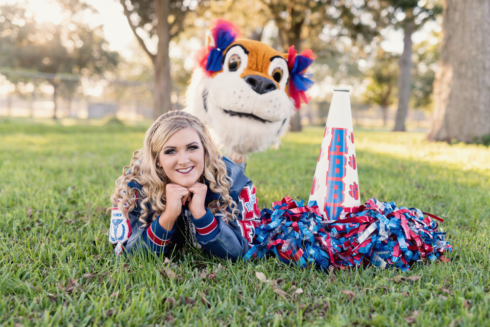 Wharton High School Mascot Senior photos tigers