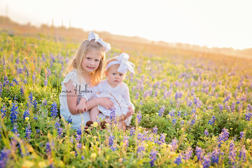 blubonnet photos Jenna Hooker Photography