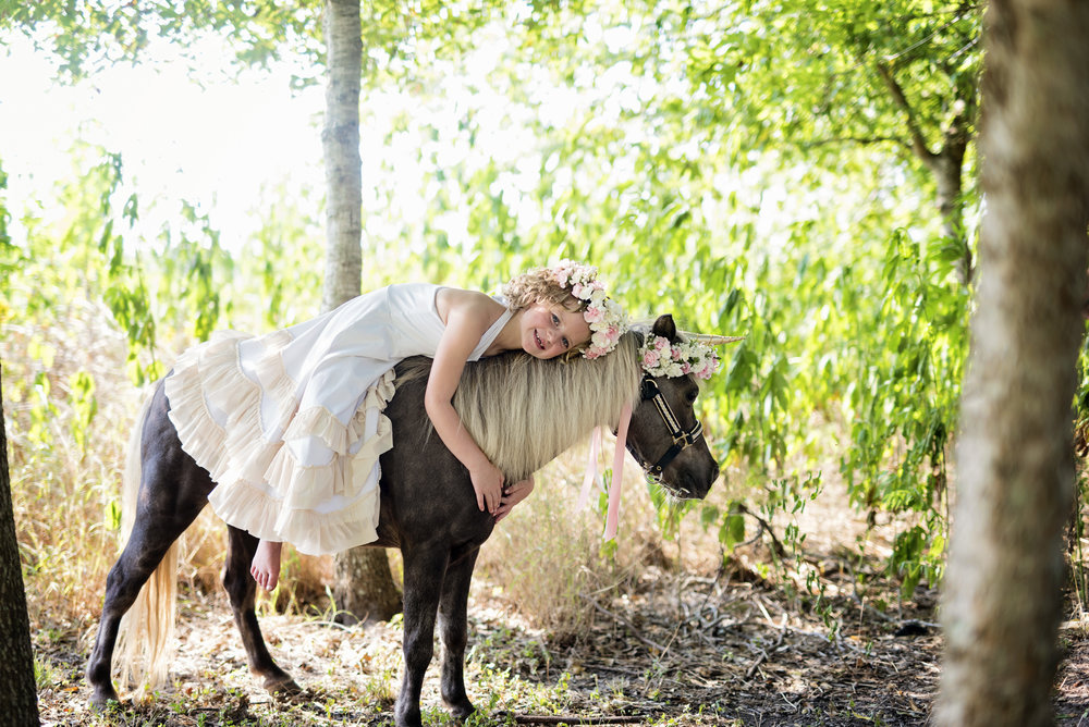 Unicorn Mini Photos el campo photographer