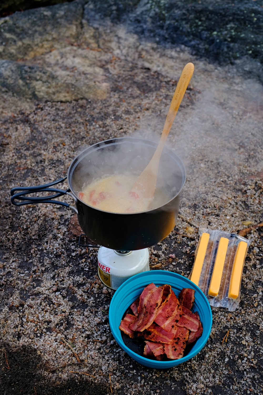 Boil and cook times will vary due to altitude. At altitudes above 5,000 feet, meals require a longer boil time due to atmospheric pressure.