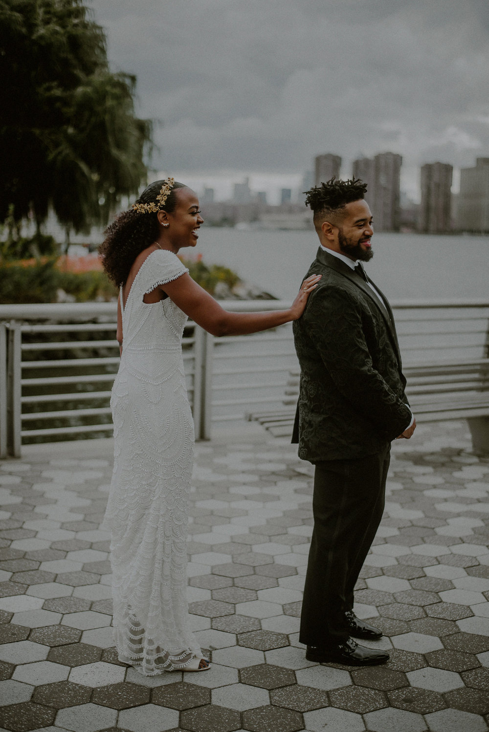 Victorious Events NYC | Arielle & John | The Metropolitan Building - Long Island City | © Carolina Rivera Photography