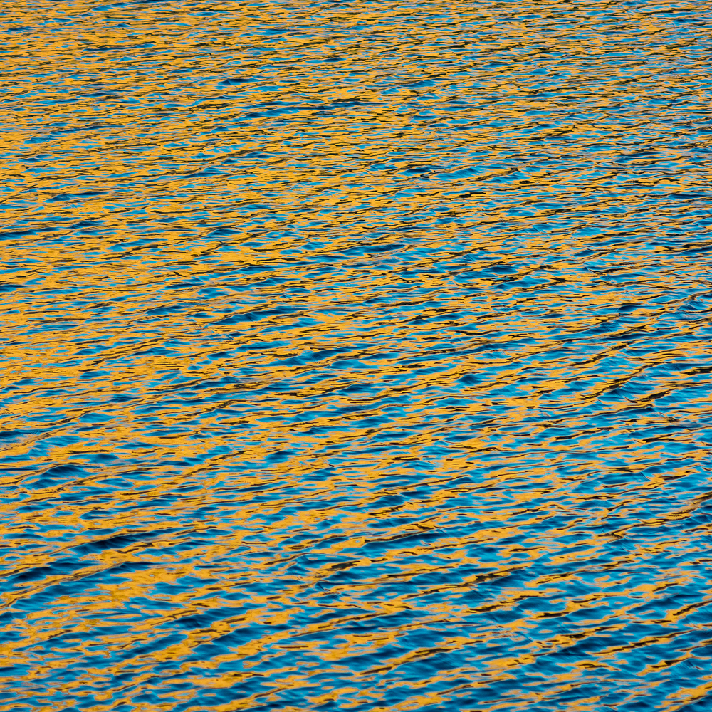 Breeze Lake Blue and Gold
