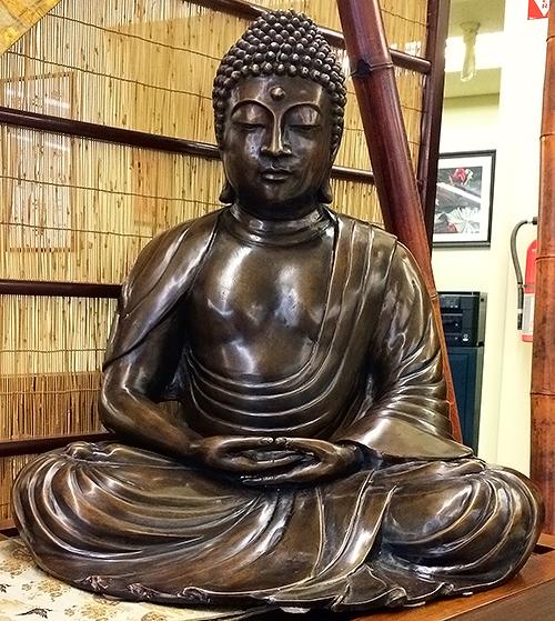 Bronze Japanese Buddha -Shakamoni