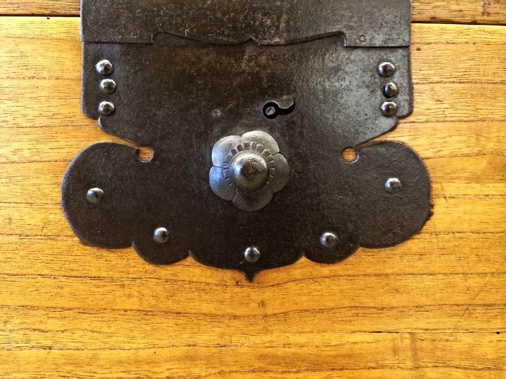 Detail of original hardware