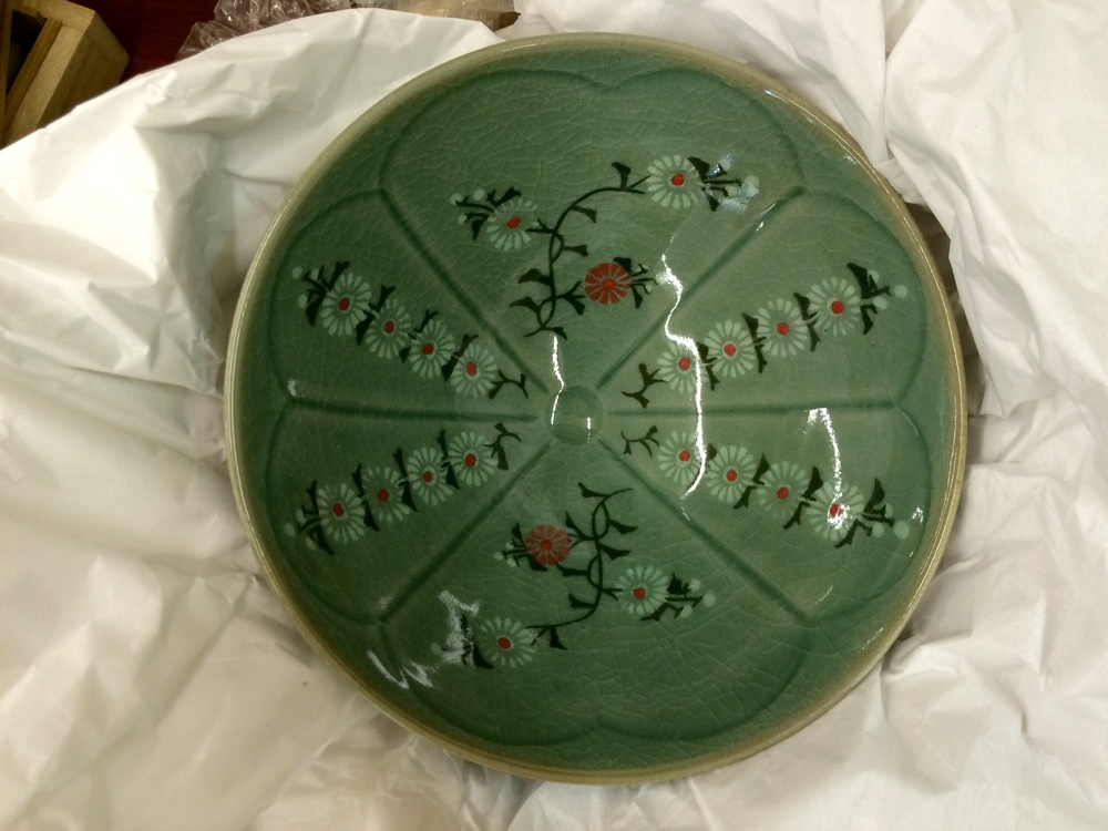 Korean celadon bowl