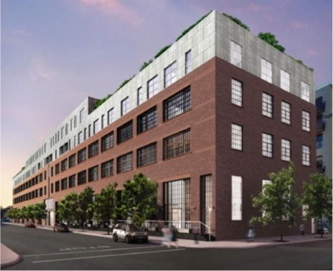 CCM along with it's partner, Jacob Toll purchased this former steel factory site in 2010. It is a mixed use residential and retail development project in the Williamsburg section of Brooklyn. Upon completion, there will be 83 residential units, 42 parking spaces 20,000 square feet of retail space comprising a total of 110,000 square feet of usable area. The top floor units will include duplexes and gas fireplaces. The building will feature amenities such as a common roof deck, barbecue pit, sun deck, roof deck bocce court and vegetable garden