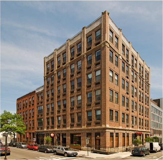 Formerly an empty six story warehouse in prime North Williamsburg, CCM fully renovated the property, converting it into 42 residential apartments and 11,000sf of retail. The property was purchased for $12.65 million in 2007 and in 2011 was sold to ING Clarion Partners for $27 million.
