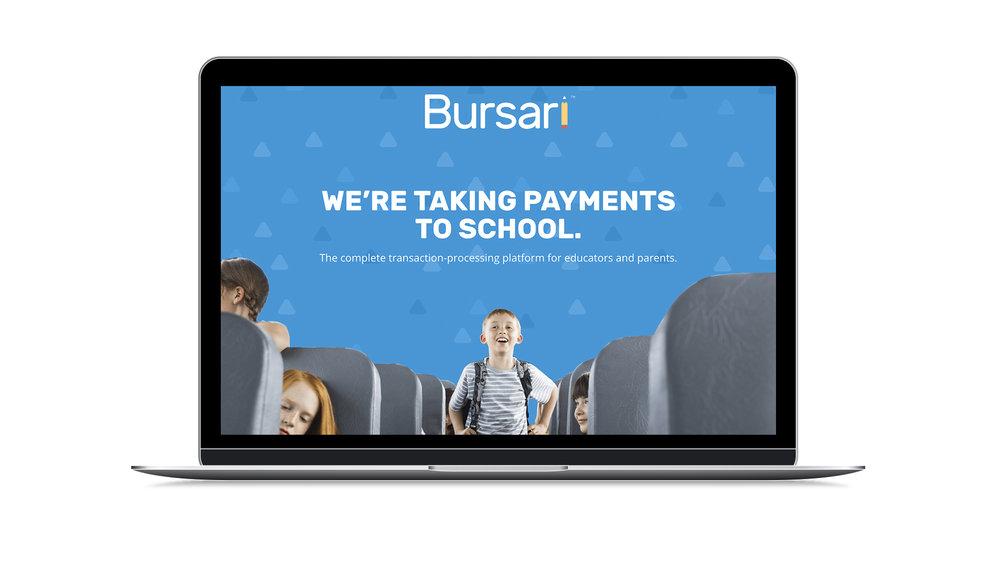bursari-web-page-mock