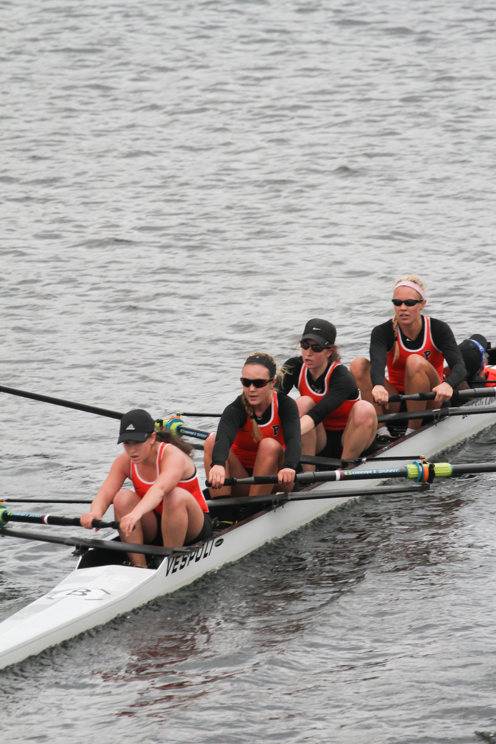 The lightweight women's 4 took gold at the 50th Head of the Charles