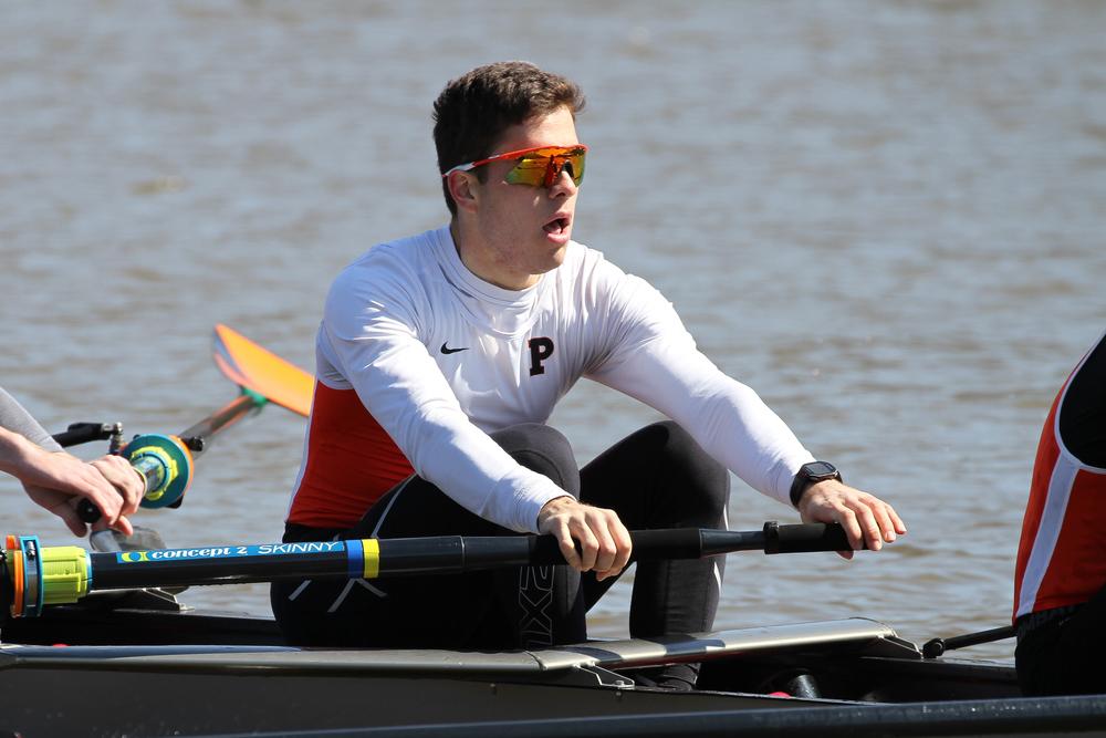 Fabrizio Giovannini '15 rows in Princeton's Lightweight Men's 2V