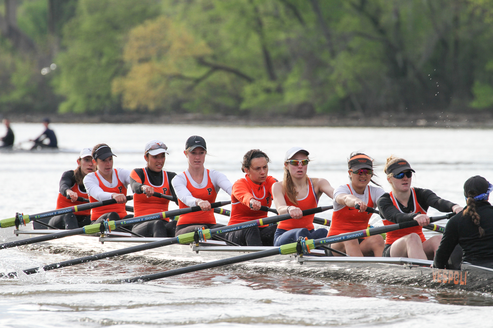 The tiger 2v races the Georgetown 1v. Spot the double on the course!