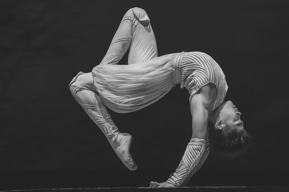 Acrobat at the Shanghai Circus