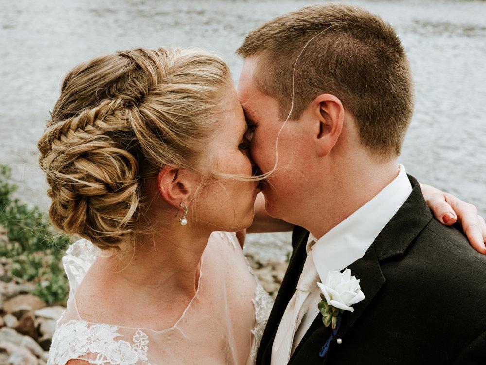 The Humbert Wedding - Venue:Coon Rapids Dam Regional Park, MinnesotaHair: Selah SalonCatering:Von Hanson's