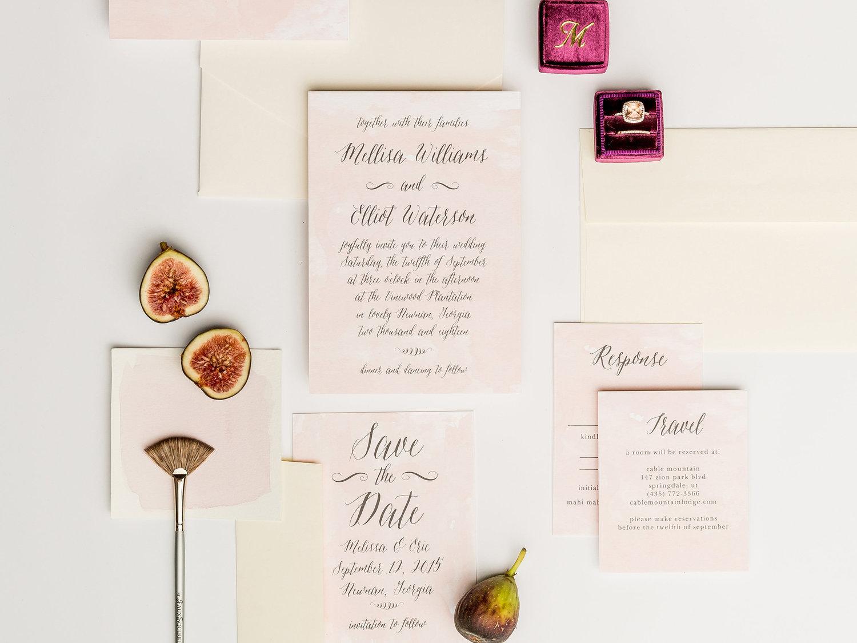 Wedding Invitation Website Inspiration Seattle Wedding