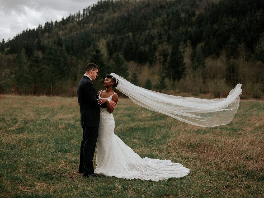 The Poore Wedding - Venue: Rein Fire RanchHair & Makeup: Elle W Hair Design and MakeupSuits: Men's WearhouseWedding Planner: Whidbey Party GirlsFlorals: Love Blooms Wedding & Event DesignCatering: Pyramid CateringTransportation: British Motor Coach