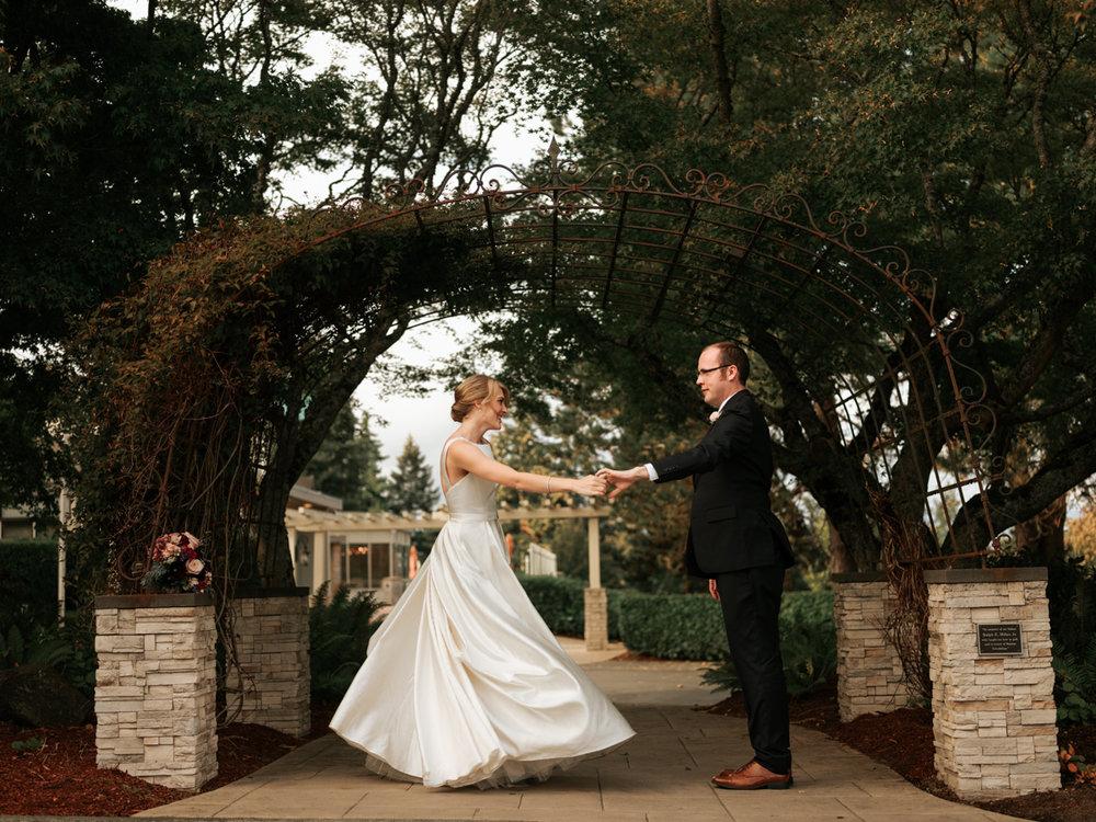 The Ryan Wedding - Ceremony Venue: Blessed SacramentReception Venue: Rainier Golf & Country ClubHair & Makeup: Beauty by JaneDress: Martina LianaShoes: Tory BurchJewelry: Cline JewelersSuit: Men's WearhouseDJ: Destination MusicCakes: Little Kitchen