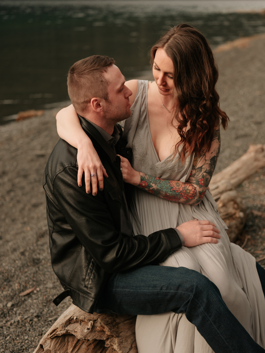 Stolen Glimpses Seattle Wedding Photographer Lake Crescent Engagement Session 26.jpg
